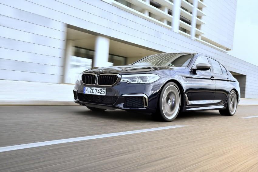 GALLERY: BMW M550i xDrive – range-topping G30 Image #593122