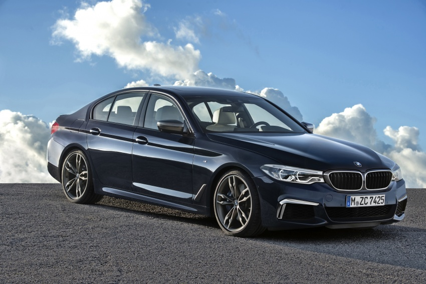 GALLERY: BMW M550i xDrive – range-topping G30 Image #593133