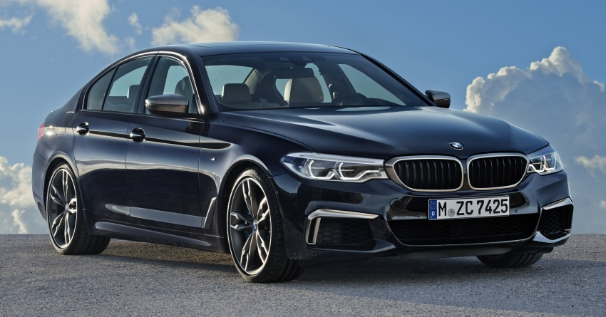 GALLERY: BMW M550i xDrive – range-topping G30 Image #593134