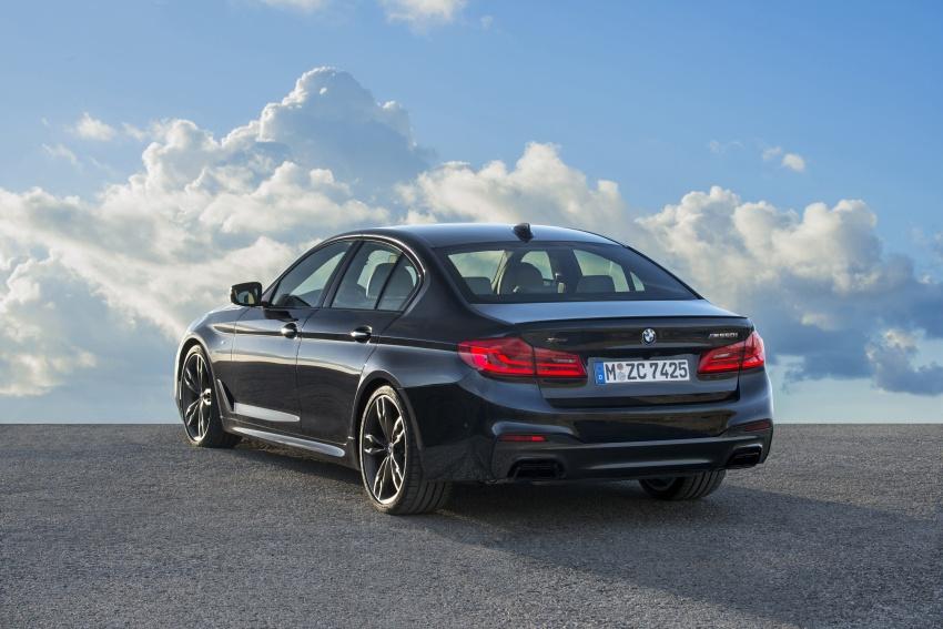 GALLERY: BMW M550i xDrive – range-topping G30 Image #593135