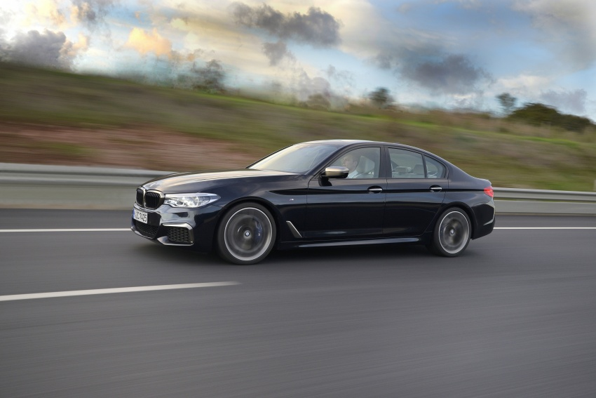 GALLERY: BMW M550i xDrive – range-topping G30 Image #593136