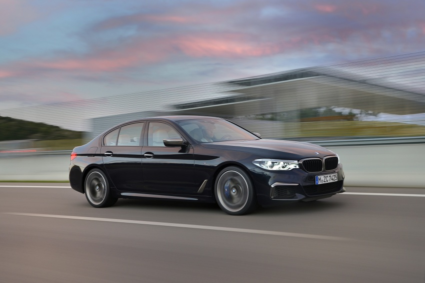 GALLERY: BMW M550i xDrive – range-topping G30 Image #593138