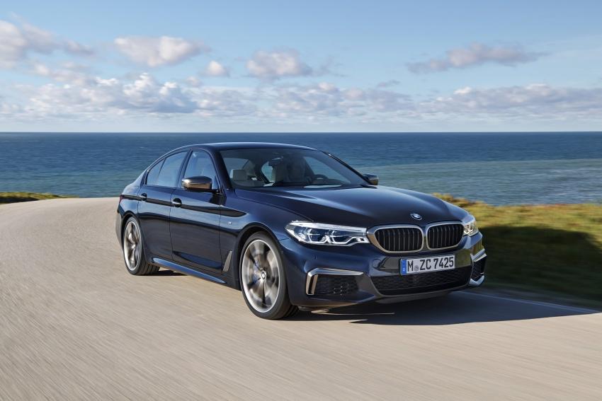 GALLERY: BMW M550i xDrive – range-topping G30 Image #593141