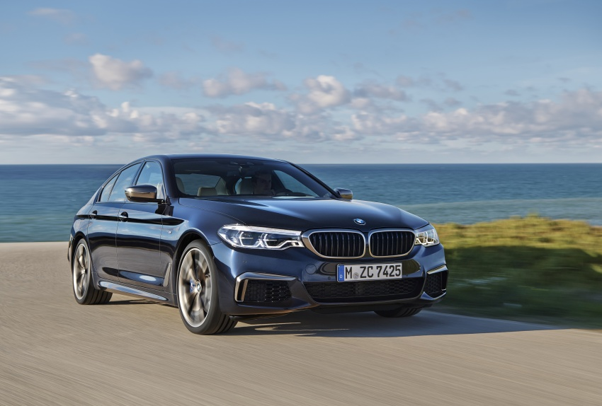 GALLERY: BMW M550i xDrive – range-topping G30 Image #593142