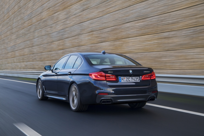 GALLERY: BMW M550i xDrive – range-topping G30 Image #593143