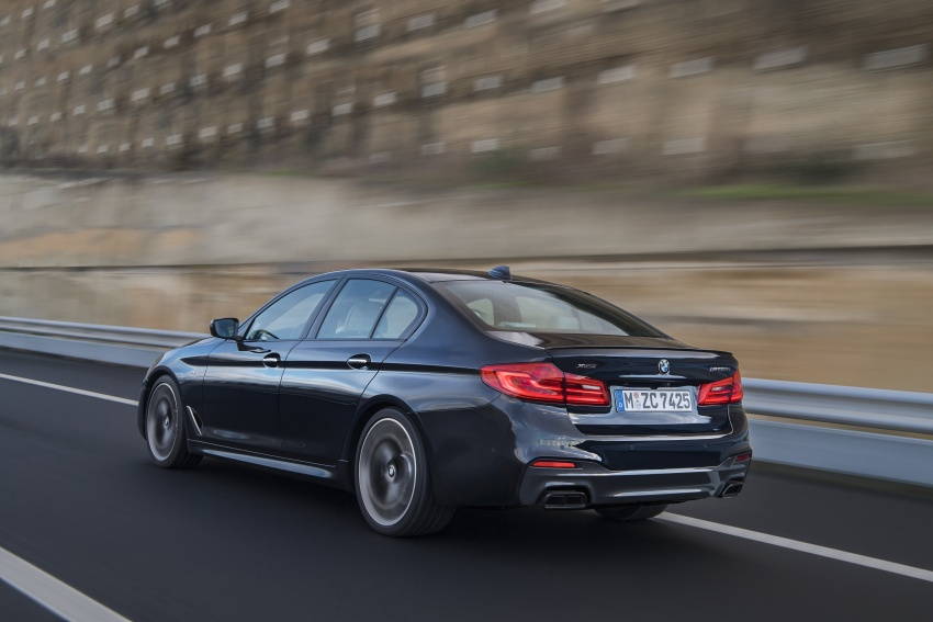 GALLERY: BMW M550i xDrive – range-topping G30 Image #593144