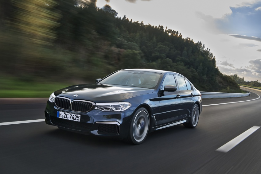 GALLERY: BMW M550i xDrive – range-topping G30 Image #593145