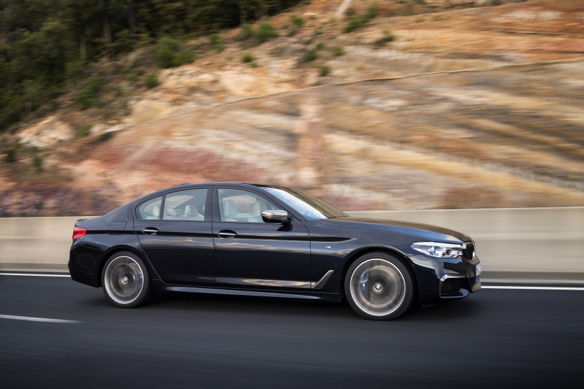 GALLERY: BMW M550i xDrive – range-topping G30 Image #593146