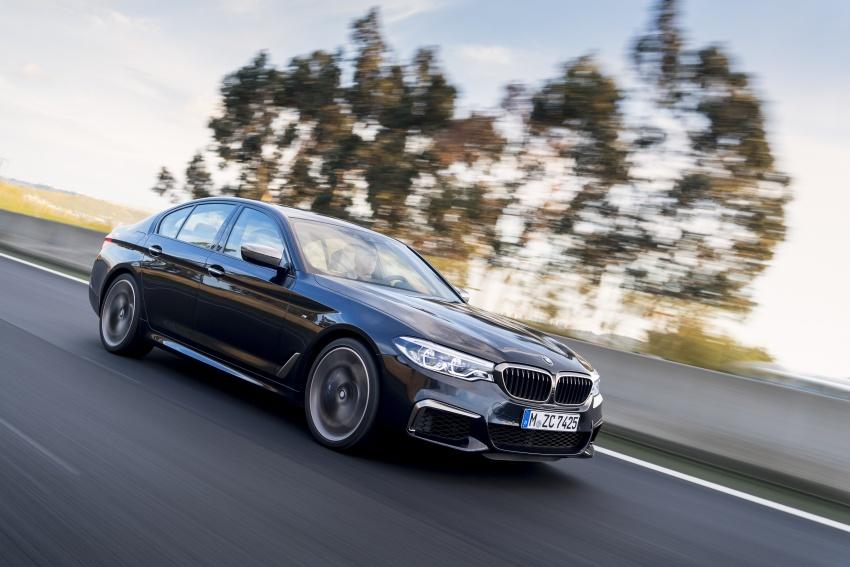 GALLERY: BMW M550i xDrive – range-topping G30 Image #593149