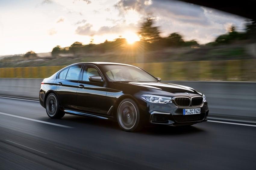 GALLERY: BMW M550i xDrive – range-topping G30 Image #593152