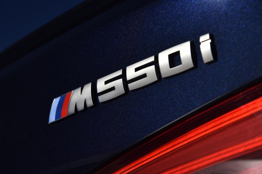 GALLERY: BMW M550i xDrive – range-topping G30 Image #593127