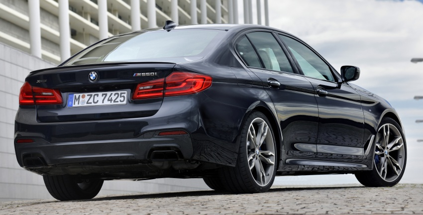 GALLERY: BMW M550i xDrive – range-topping G30 Image #593129