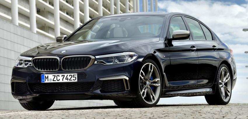 GALLERY: BMW M550i xDrive – range-topping G30 Image #593130
