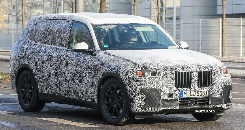 SPYSHOTS: G07 BMW X7 now seen testing on road Image #593581