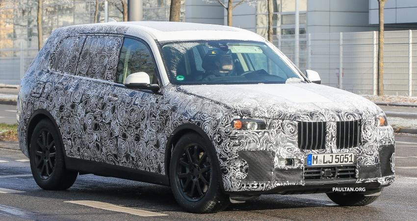 SPYSHOTS: G07 BMW X7 now seen testing on road Image #593581