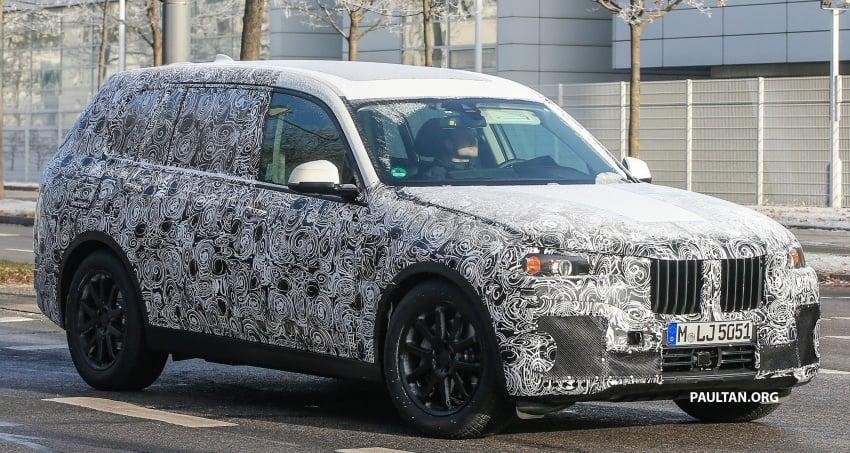 SPYSHOTS: G07 BMW X7 now seen testing on road Image #593585