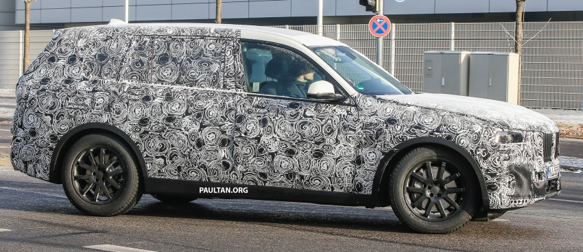 SPYSHOTS: G07 BMW X7 now seen testing on road Image #593613