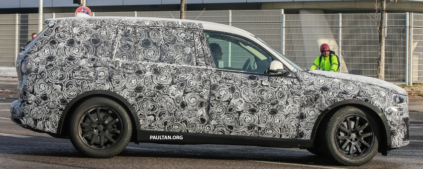 SPYSHOTS: G07 BMW X7 now seen testing on road Image #593615