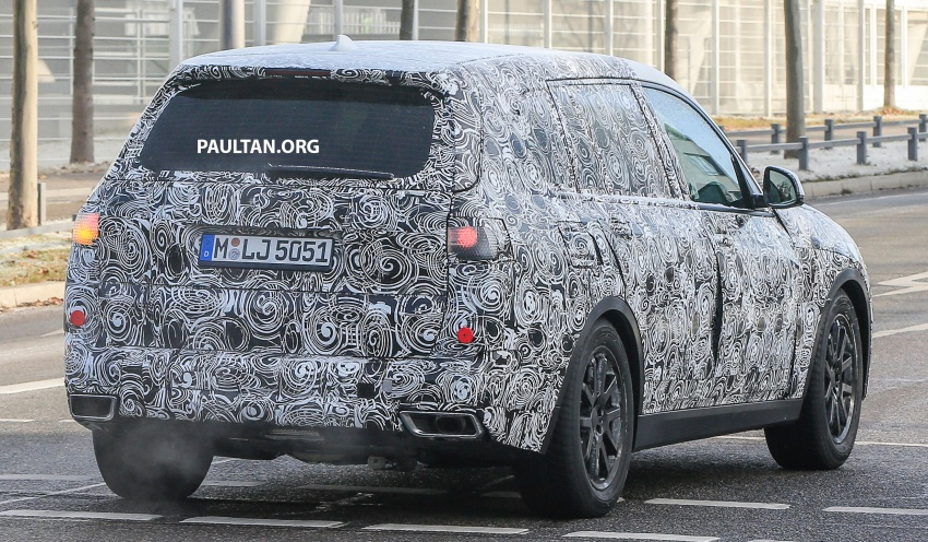 SPYSHOTS: G07 BMW X7 now seen testing on road Image #593619