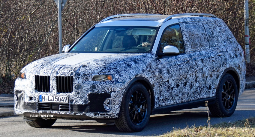 SPYSHOTS: G07 BMW X7 now seen testing on road Image #593578