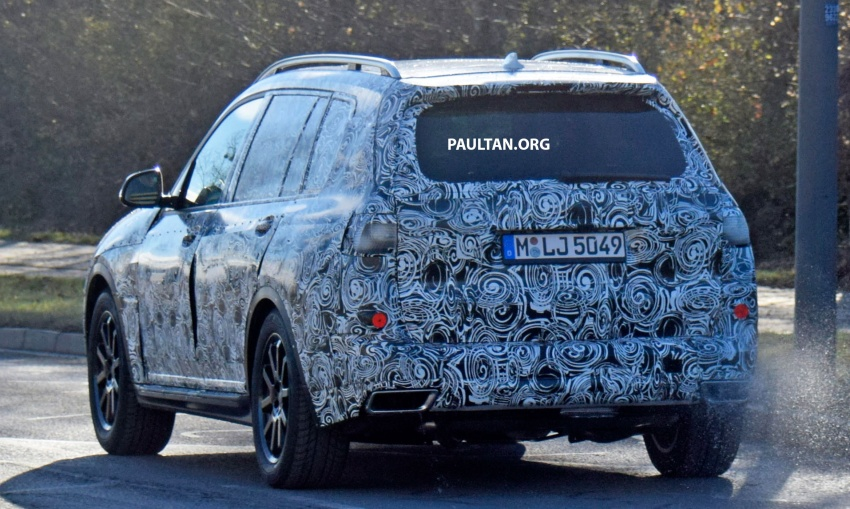 SPYSHOTS: G07 BMW X7 now seen testing on road Image #593621