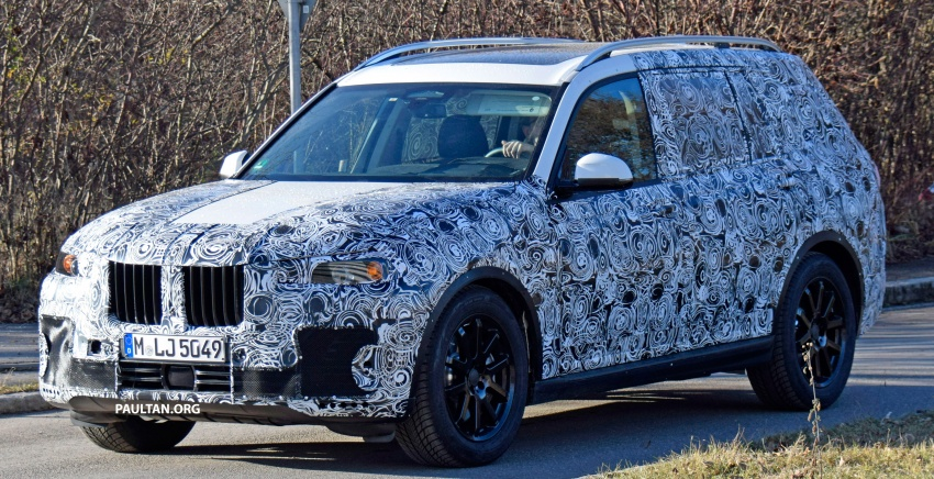 SPYSHOTS: G07 BMW X7 now seen testing on road Image #593583