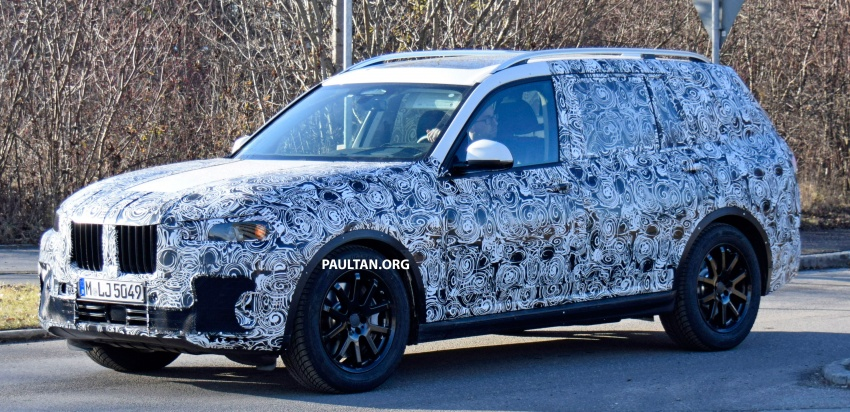 SPYSHOTS: G07 BMW X7 now seen testing on road Image #593608