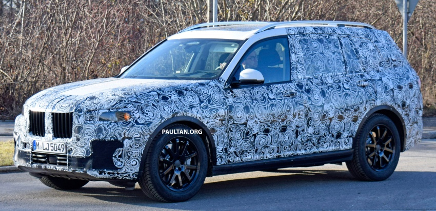SPYSHOTS: G07 BMW X7 now seen testing on road Image #593610