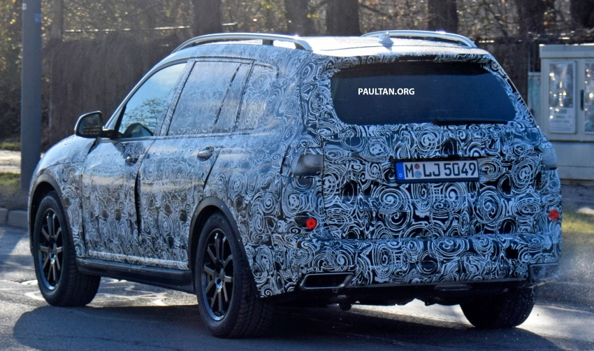 SPYSHOTS: G07 BMW X7 now seen testing on road Image #593620