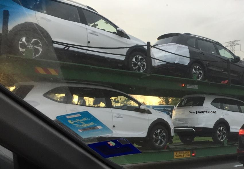 SPYSHOTS: Honda BR-V ahead of Malaysian launch Image #596914