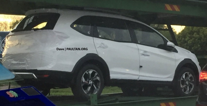 SPYSHOTS: Honda BR-V ahead of Malaysian launch Image #596915