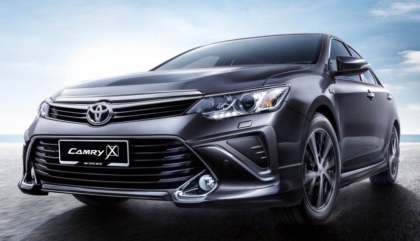 Updated Toyota Camry on sale in M'sia, from RM153k – two new variants, 7 airbags and VSC across the range Image #587478