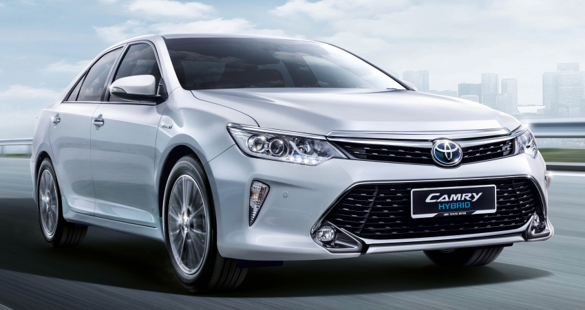 Updated Toyota Camry on sale in M'sia, from RM153k – two new variants, 7 airbags and VSC across the range Image #587479