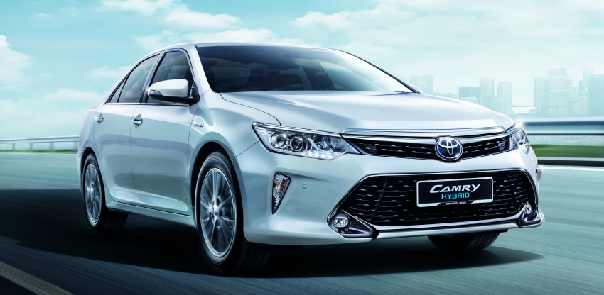 Updated Toyota Camry on sale in M'sia, from RM153k – two new variants, 7 airbags and VSC across the range Image #587469