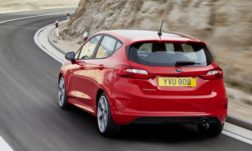2017 Ford Fiesta tech detailed – new 1.0 EcoBoost with up to 140 PS, six-speed manual/auto, active safety Image #586700