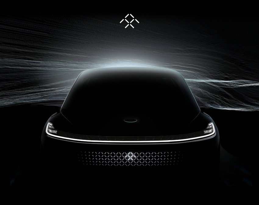 VIDEO: Faraday Future teases its first crossover again, races a Bentley Bentayga, Ferrari 488, Tesla Model X Image #592259