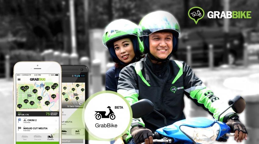 Honda to partner Grab on motorcycle sharing services Image #590801