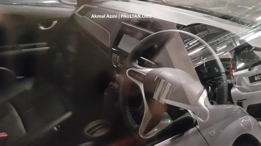 Honda BR-V dijumpai di M'sia, papan pemuka terdedah Image #593393