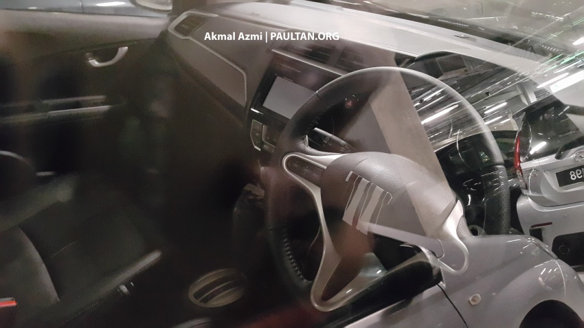 Honda BR-V spotted in Malaysia – interior revealed Image #593303