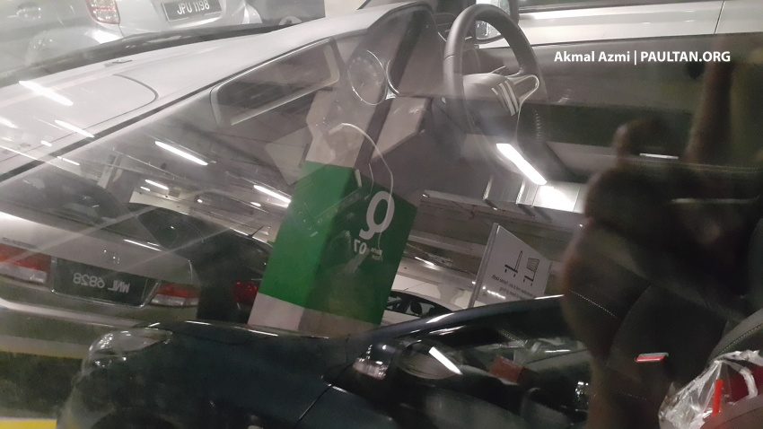 Honda BR-V spotted in Malaysia – interior revealed Image #593304
