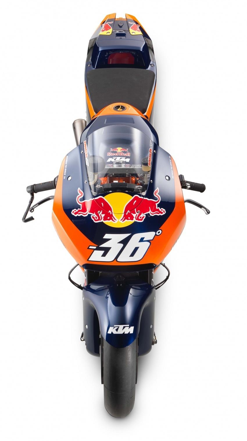 KTM RC16 – jentera MotoGP untuk pasaran awam akan mula dijual pada tahun 2018, RM563k, terhad 100 unit Image #590515