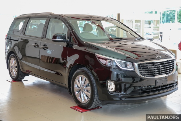 The Kia Grand Carnival Was First Previewed At Mines International Exhibition And Convention Centre Miecc Back In November Now