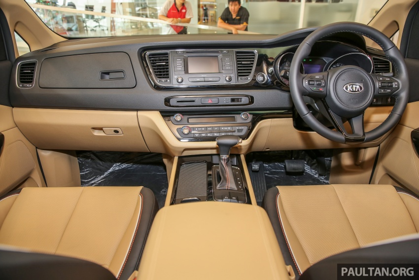 Kia Grand Carnival 2.2 CRDi – prices and specs revealed – 200 PS/440 Nm eight-seater, from RM154k Image #595257