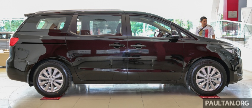 Kia Grand Carnival 2.2 CRDi – prices and specs revealed – 200 PS/440 Nm eight-seater, from RM154k Image #595247