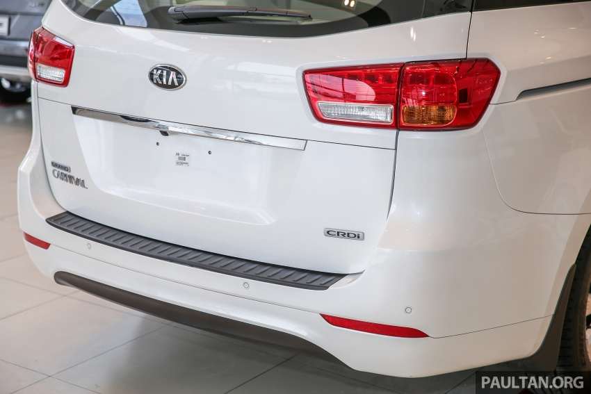 Kia Grand Carnival 2.2 CRDi – prices and specs revealed – 200 PS/440 Nm eight-seater, from RM154k Image #595192