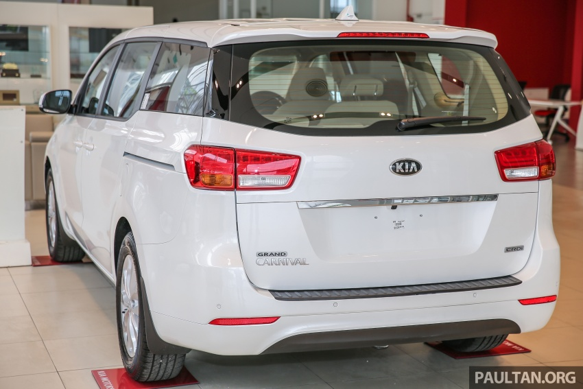 Kia Grand Carnival 2.2 CRDi – prices and specs revealed – 200 PS/440 Nm eight-seater, from RM154k Image #595177