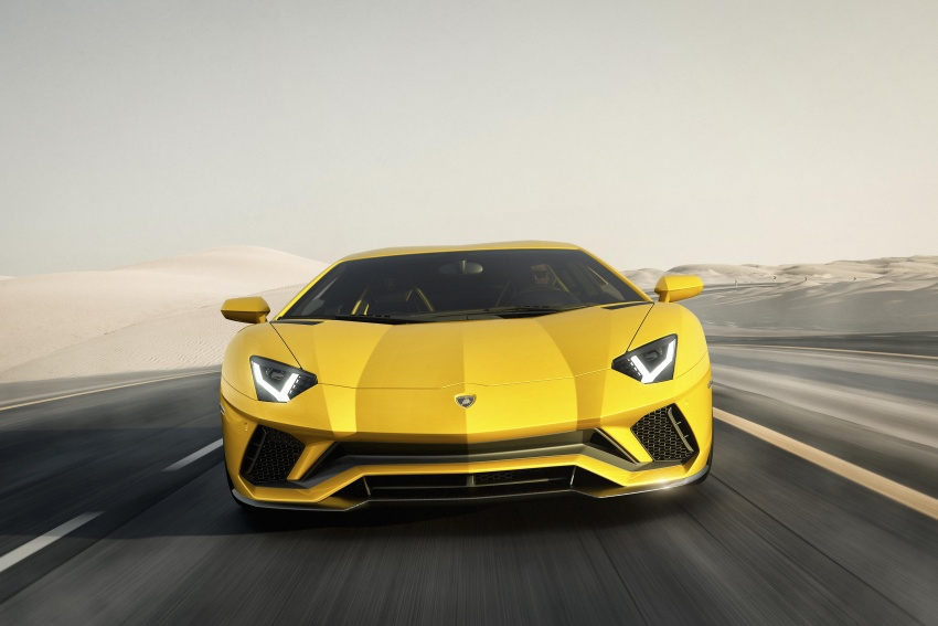 Lamborghini Aventador S – SV styling, more power Image #593367