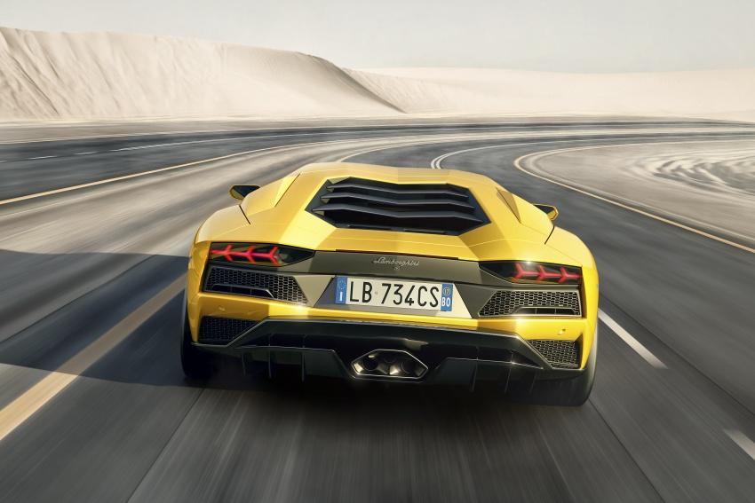 Lamborghini Aventador S – SV styling, more power Image #593376