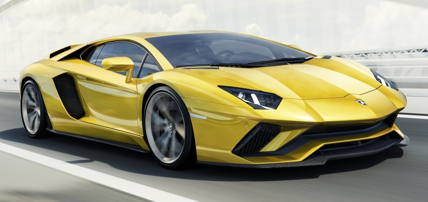 Lamborghini Aventador S – SV styling, more power Image #593388