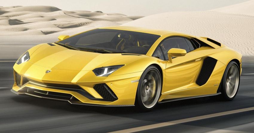 Lamborghini Aventador S – SV styling, more power Image #593369